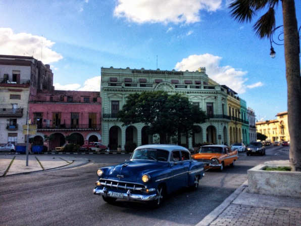 Old cars and colorful buildings made Havana feel like a movie set.