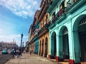 Havana's famous colored arches.